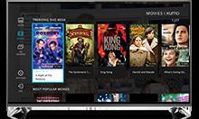 XUMO Movies Page